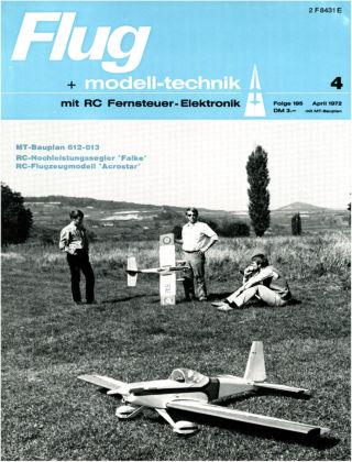 FMT - FLUGMODELL UND TECHNIK 04/1972