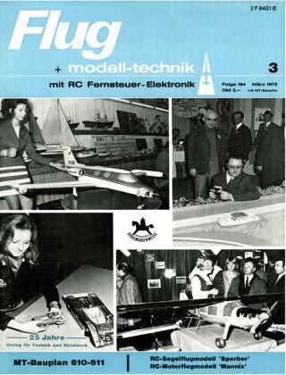 FMT - FLUGMODELL UND TECHNIK 03/1972