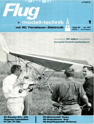 FMT - FLUGMODELL UND TECHNIK 01/1972