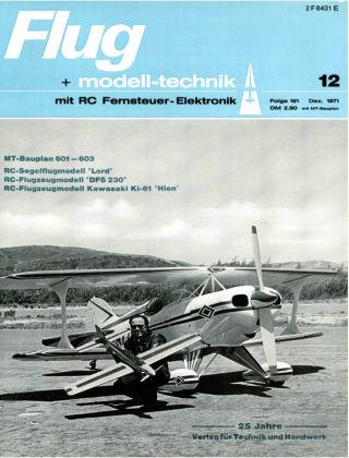 FMT - FLUGMODELL UND TECHNIK 12/1971