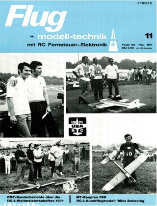 FMT - FLUGMODELL UND TECHNIK 11/1971