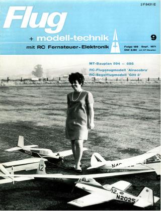 FMT - FLUGMODELL UND TECHNIK 09/1971