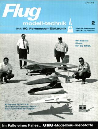 FMT - FLUGMODELL UND TECHNIK 02/1971