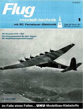 FMT - FLUGMODELL UND TECHNIK 01/1971