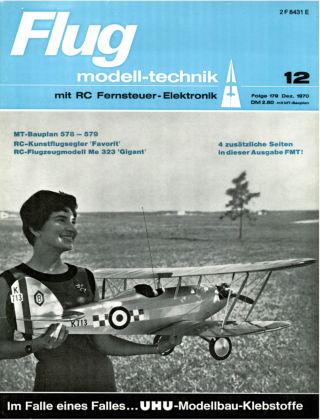 FMT - FLUGMODELL UND TECHNIK 12/1970
