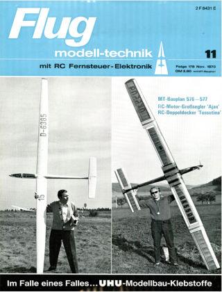 FMT - FLUGMODELL UND TECHNIK 11/1970