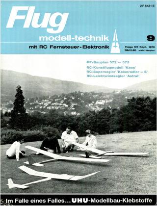 FMT - FLUGMODELL UND TECHNIK 09/1970