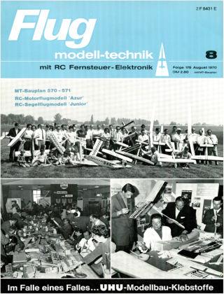 FMT - FLUGMODELL UND TECHNIK 08/1970