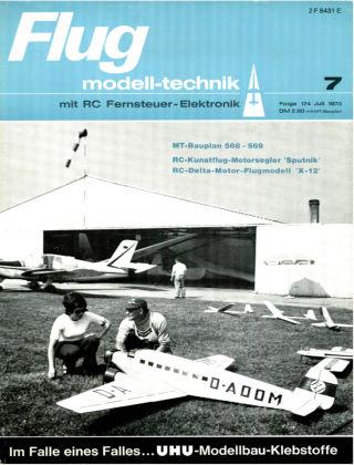 FMT - FLUGMODELL UND TECHNIK 07/1970