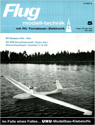 FMT - FLUGMODELL UND TECHNIK 05/1970