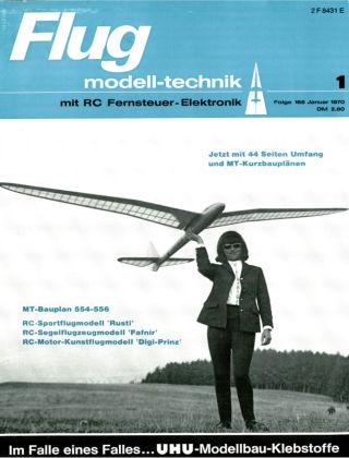 FMT - FLUGMODELL UND TECHNIK 01/1970