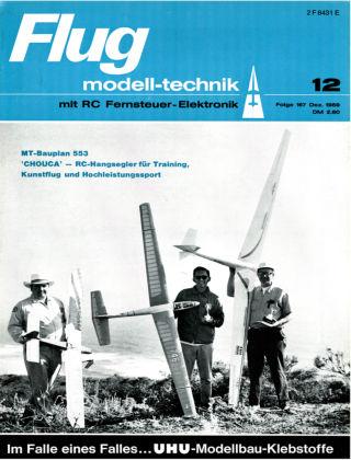 FMT - FLUGMODELL UND TECHNIK 12/1969