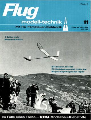 FMT - FLUGMODELL UND TECHNIK 11/1969