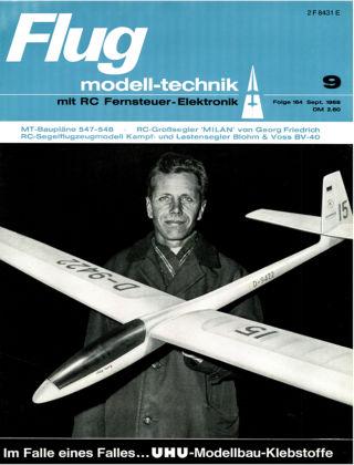 FMT - FLUGMODELL UND TECHNIK 09/1969