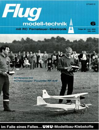 FMT - FLUGMODELL UND TECHNIK 06/1969