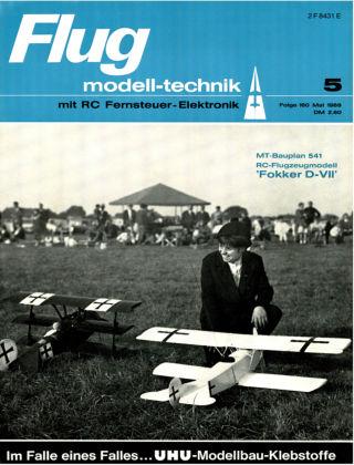 FMT - FLUGMODELL UND TECHNIK 05/1969