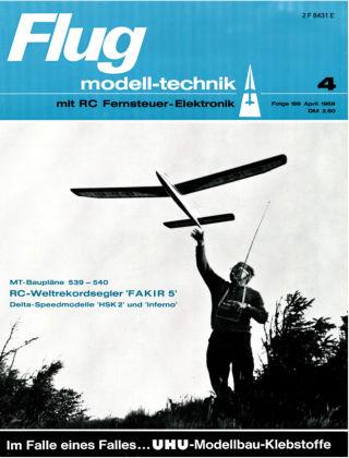 FMT - FLUGMODELL UND TECHNIK 04/1969