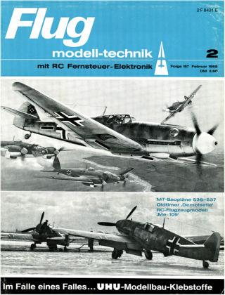 FMT - FLUGMODELL UND TECHNIK 02/1969