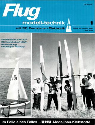 FMT - FLUGMODELL UND TECHNIK 01/1969
