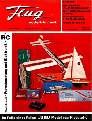 FMT - FLUGMODELL UND TECHNIK 11/1968