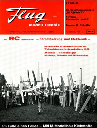 FMT - FLUGMODELL UND TECHNIK 10/1968