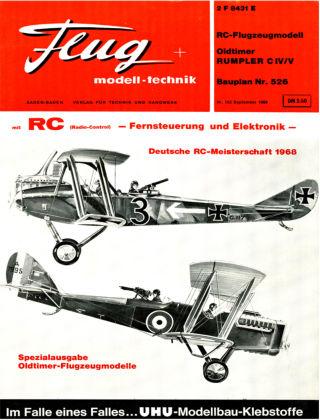 FMT - FLUGMODELL UND TECHNIK 09/1968