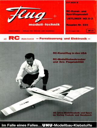 FMT - FLUGMODELL UND TECHNIK 08/1968