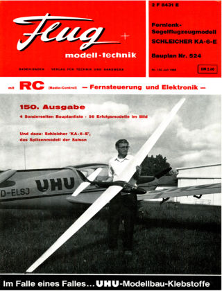 FMT - FLUGMODELL UND TECHNIK 07/1968