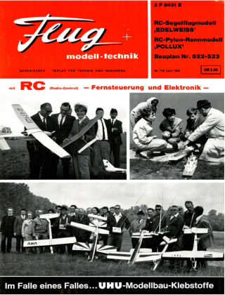 FMT - FLUGMODELL UND TECHNIK 06/1968