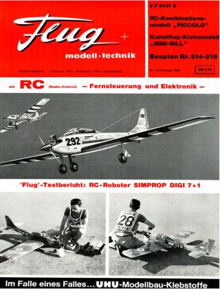 FMT - FLUGMODELL UND TECHNIK 02/1968