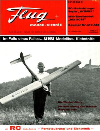 FMT - FLUGMODELL UND TECHNIK 01/1968