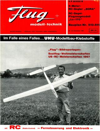 FMT - FLUGMODELL UND TECHNIK 12/1967