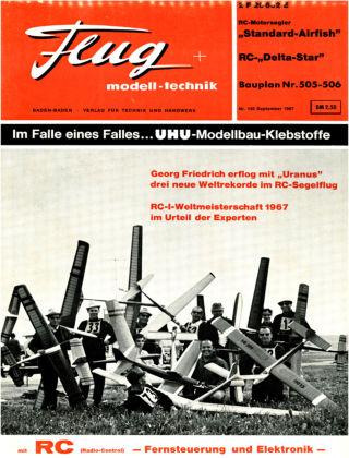 FMT - FLUGMODELL UND TECHNIK 09/1967