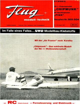 FMT - FLUGMODELL UND TECHNIK 08/1967