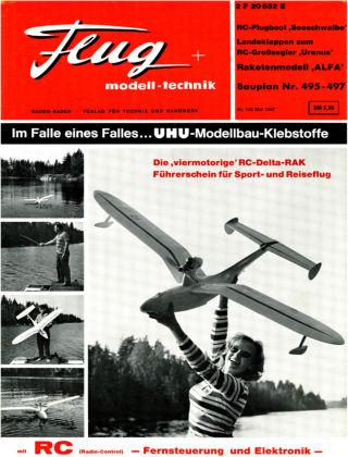 FMT - FLUGMODELL UND TECHNIK 05/1967