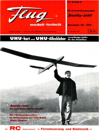 FMT - FLUGMODELL UND TECHNIK 04/1967