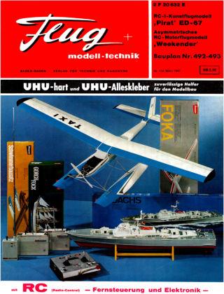 FMT - FLUGMODELL UND TECHNIK 03/1967