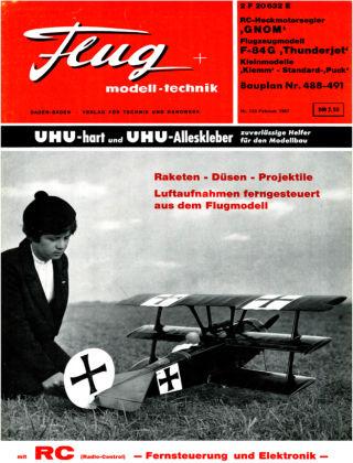 FMT - FLUGMODELL UND TECHNIK 02/1967