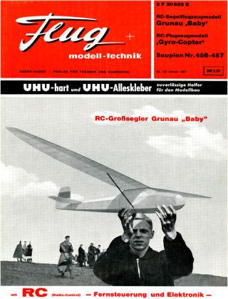 FMT - FLUGMODELL UND TECHNIK 01/1967