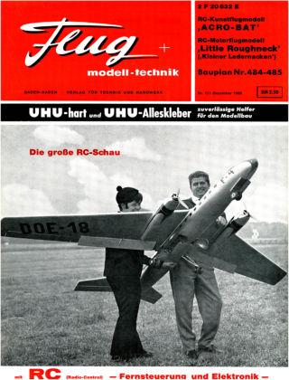 FMT - FLUGMODELL UND TECHNIK 12/1966