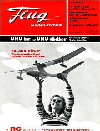 FMT - FLUGMODELL UND TECHNIK 11/1966