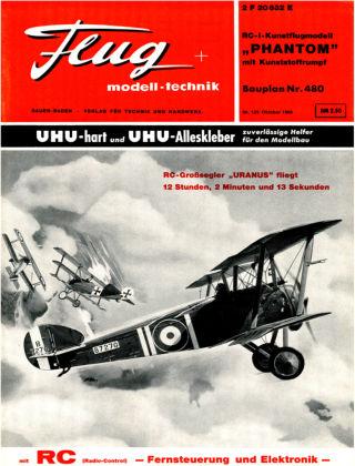 FMT - FLUGMODELL UND TECHNIK 10/1966