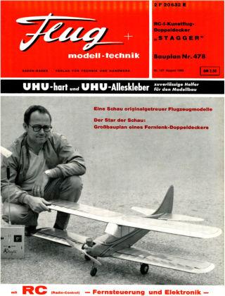 FMT - FLUGMODELL UND TECHNIK 08/1966