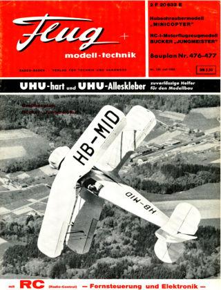 FMT - FLUGMODELL UND TECHNIK 07/1966