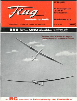 FMT - FLUGMODELL UND TECHNIK 05/1966
