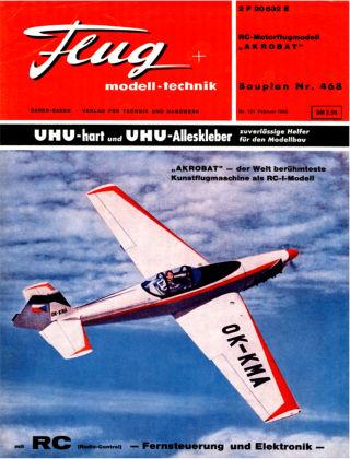 FMT - FLUGMODELL UND TECHNIK 02/1966