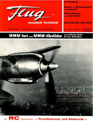 FMT - FLUGMODELL UND TECHNIK 12/01/1965/66