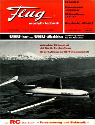 FMT - FLUGMODELL UND TECHNIK 11/1965