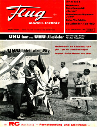 FMT - FLUGMODELL UND TECHNIK 10/1965