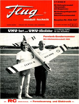 FMT - FLUGMODELL UND TECHNIK 09/1965